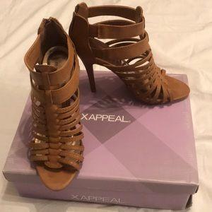 Brown X•Appeal Heels